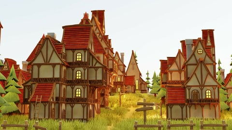 Fantasy Village Pack