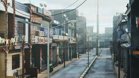 Indian City Street Assets pack | Blender 3D