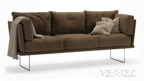 Gamma Vessel Sofa