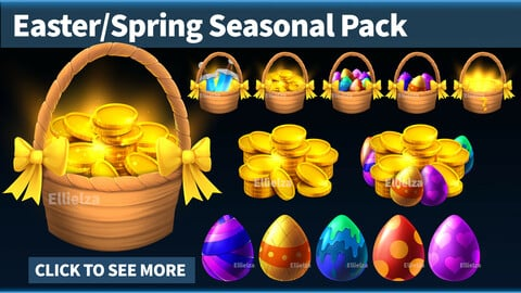 Easter Spring Icon Pack