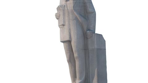 Sculpture D.I. Mendeleev 193