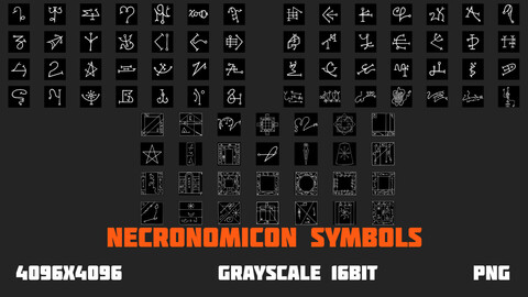 Necronomicon Symbols