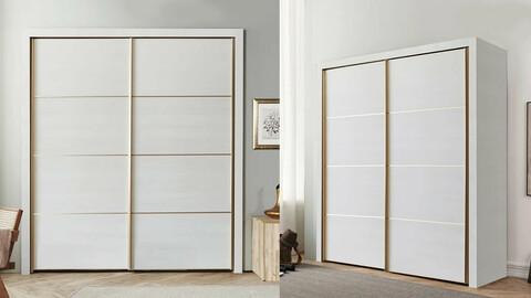 Baden Sliding Small Room Built-in Cabinet