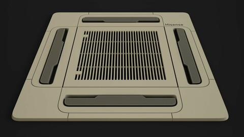 Ceiling Type Air Conditioner  // PBR MATERIAL-  //    %100 Substance Designer-------- No Model !!!!------