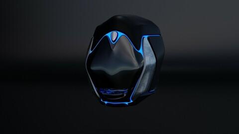 Scifi Helmet 4A