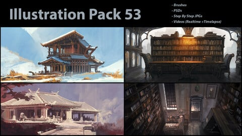 Illustration Pack 53 (not a stock asset)