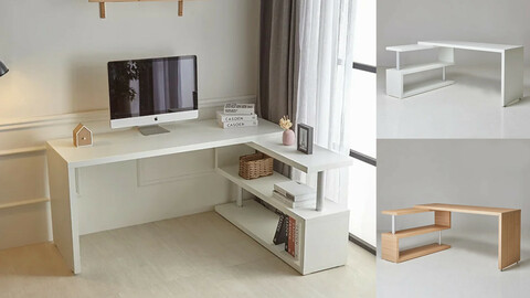 Cornell Easy Wide Desk Desk 1600 2colors