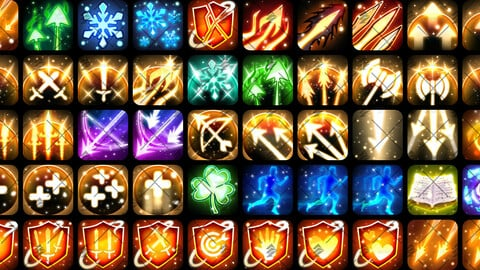 Spell, Skill & Abilites Icon Pack[50] #3
