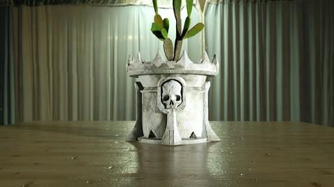 Skull Flowerpot