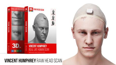 Vincent Humphrey Raw 3D Head Scan