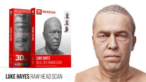 Luke Hayes Raw 3D Head Scan