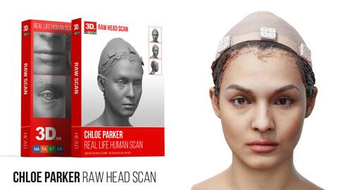 Chloe Parker Raw 3D Head Scan