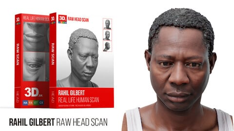Rahil Gilbert Raw 3D Head Scan