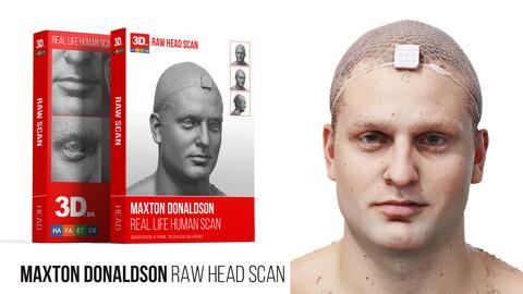 Maxton Donaldson Raw 3D Head Scan