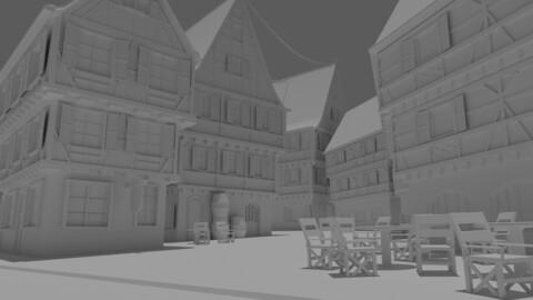 Village Building Asset Pack 1