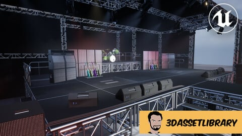 Stage Vol 1 For Unreal Engine