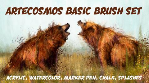 Artecosmos Basic Brush Set