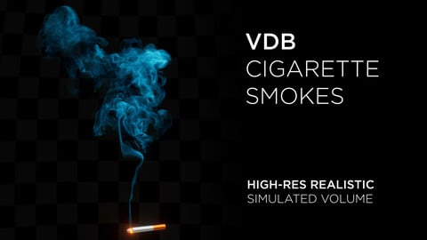 High-Res VDB Cigarette Smokes