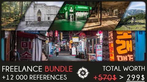Freelance Bundle: +12 000 reference photos + Free updates