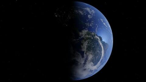 Earth - 3D-Model