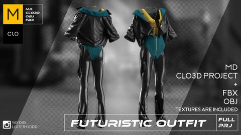 Female Futuristic Outfit