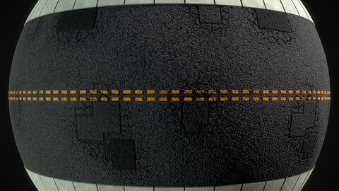 Stylized Road Material