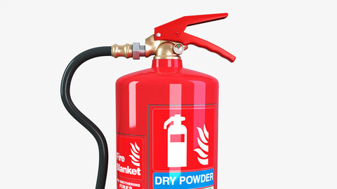 DRY Power fire extinguisher
