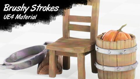 Brushy Strokes: UE4 Master Material Setup