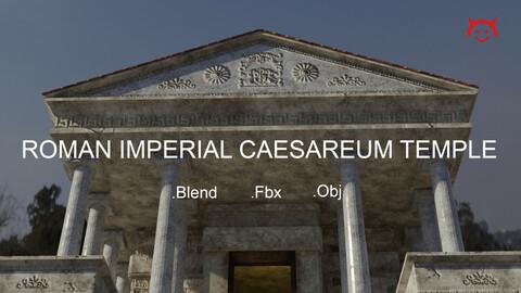 Roman Imperial Caesareum Temple Of Worship