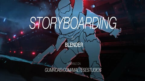 STORYBOARDING IN BLENDER