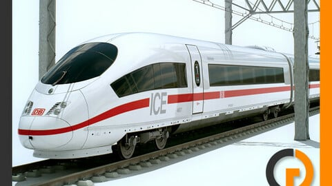 High Speed Train ICE 3 Siemens Velaro