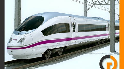 High Speed Train AVE Siemens Velaro