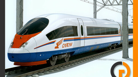 High Speed Train Sapsan Siemens Velaro