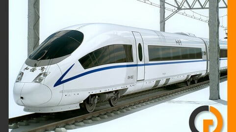High Speed Train CRH3 CRH3C Siemens Velaro