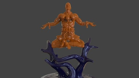 Dhalsim Yoga Power Sculpture