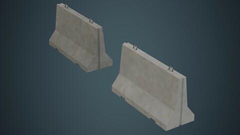Concrete Barrier 1A