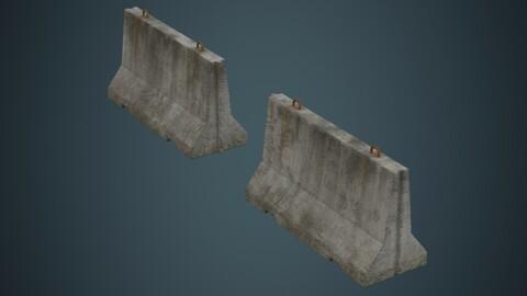 Concrete Barrier 1B