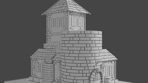 Tavern of the Oceans for 3D Print
