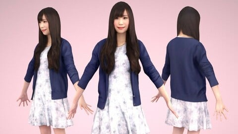 Animated 3D-people 072_Yui