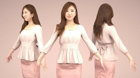 Animated 3D-people 060_Mao