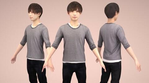 Animated 3D-people 038_Toru