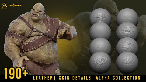190+ LETHER | SKIN DETAILS ALPHA COLLECTION [DEMO TUTORIAL]