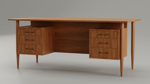 Vintage Office Desk No1