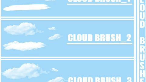 Cloud Brushes (3 Set)