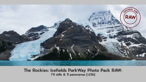 The Rockies: Icefields ParkWay Photo Pack RAW