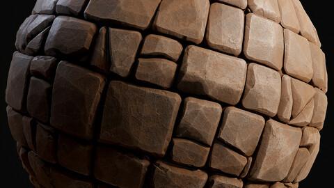 Semi Stylized Stone Floor