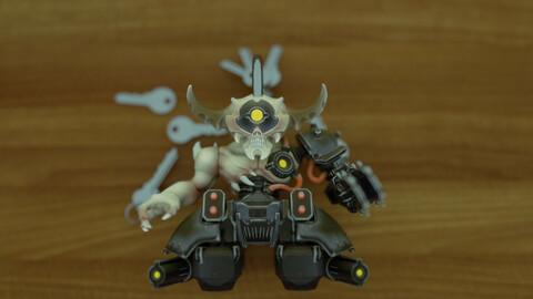 Doom Doomhunter Keychain