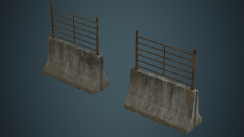 Concrete Barrier 2C