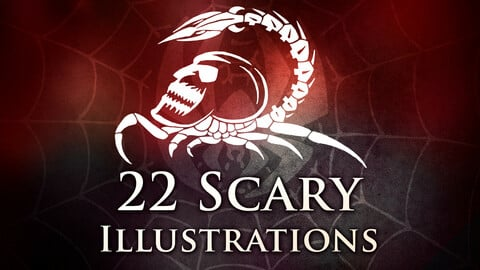 22 Scary Illustrations