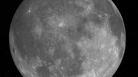 Moon 3D-Model
